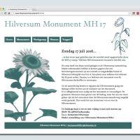 Website monument Hilversum MH17