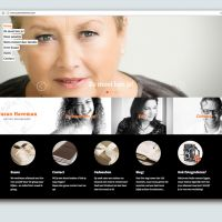 Website voor Susan Haveman - Portrait photographer