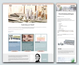 Nieuwe website voor Organic Beauty Point