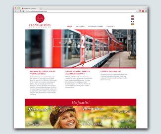 Website Vertaalbureau Translations in nieuw jasje