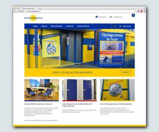 Mini Opslag Huys website ook responsive