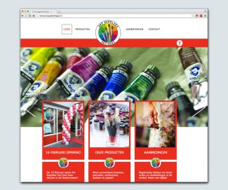 Website Art Supplies Het Gooi