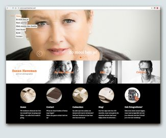 Website voor Susan Haveman - Portrait photographer