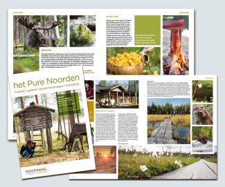 Pure Noorden zomer brochure Voigt Travel