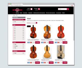 Webshop Yaou Muziek