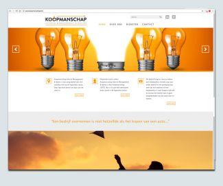 Logo en website Koopmanschap