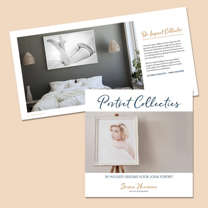 Prijslijst brochure Susan Haveman Fotografie