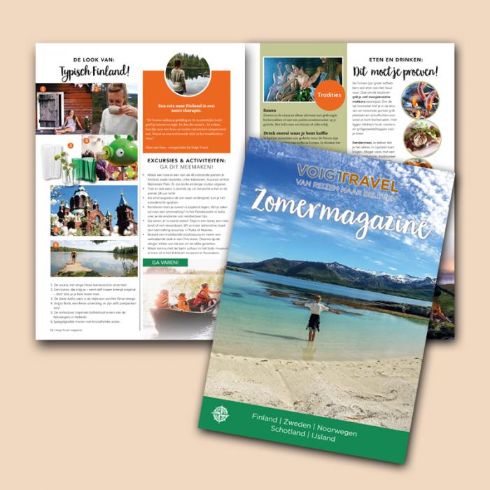 Voigt Travel zomermagazine '20