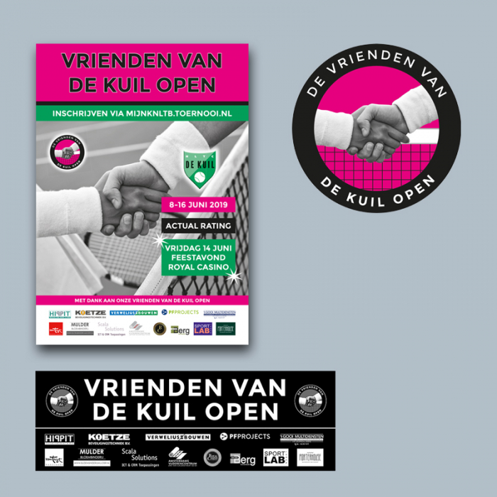 Tennisclub de Kuil Open toernooi diverse