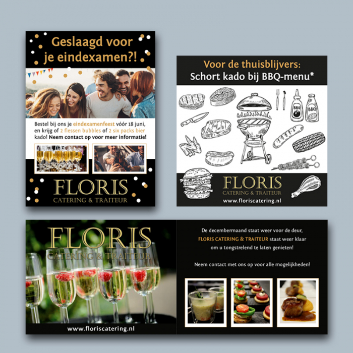 print divers Floris Catering