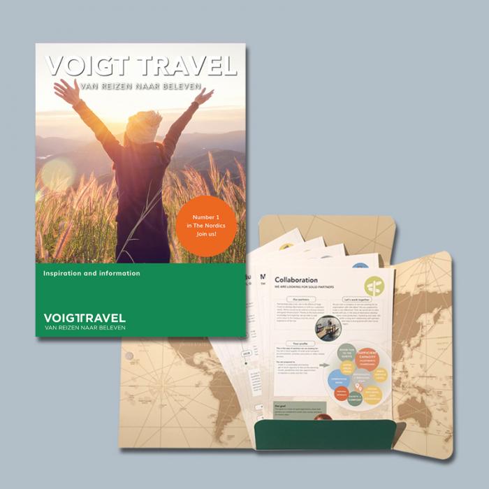 Verkoopmap met inhoud Voigt Travel